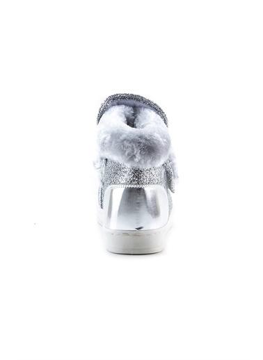 minipicco Minipicco Kız Cocuk Gümüş Ortopedik Destekli Çocuk Bot Gümüş